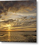 Sunrise At Low Tide - Sleepy Cove Metal Print