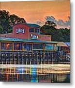 Sunrise At Lulu's Metal Print by Michael Thomas