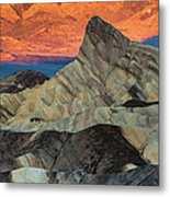 Sunrise At Manly Beacon Metal Print