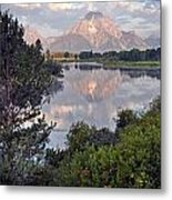 Sunrise At Oxbow Bend 3 Metal Print by Marty Koch