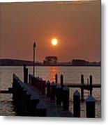 Sunrise At Piney Point Maryland Metal Print