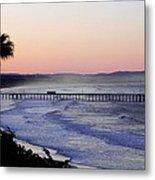 Sunrise At Pismo Beach Metal Print