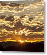 Sunrise At Spirit Lake Sanctuary Lower Lake Ca 20140710 0609 Metal Print