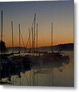 Sunrise At The Marina - Lake Nockamixon State Park Metal Print