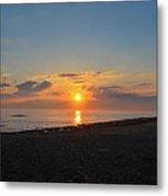 Sunrise At The Shore Metal Print