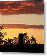 Sunrise At Thornhill Metal Print