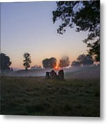 Sunrise At Whitemarsh Metal Print