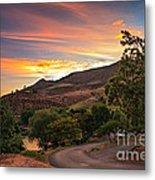 Sunrise At Woodhead Park Metal Print by Robert Bales