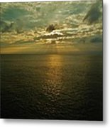 Sunrise Beams Hatteras 15 10/18 Metal Print