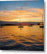 Sunrise Boston  Metal Print
