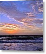 Sunrise Cloudshadows Metal Print