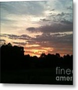 Sunrise Coming Metal Print