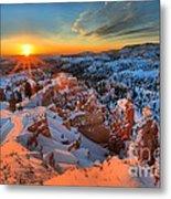 Sunrise Delight Metal Print