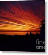 Sunrise Display Metal Print