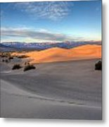 Sunrise Dunes Metal Print