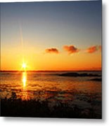 Sunrise From Sachuest Metal Print