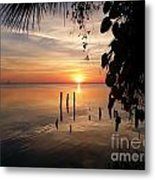 Sunrise Hang Metal Print