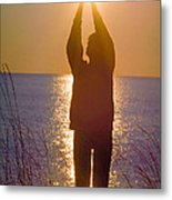 Sunrise - Healing Light Metal Print