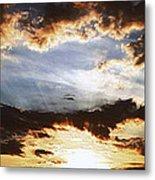 Sunrise Heaven Metal Print
