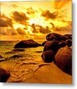 Sunrise In Bintan 2 Metal Print