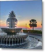 Sunrise In Charleston Metal Print