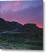 Sunrise In Colorado Metal Print
