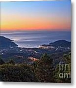 sunrise in Elba island Metal Print