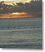Sunrise In Florida Riviera Metal Print