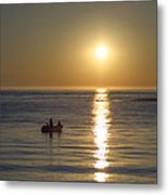 Sunrise In Stone Harbor New Jersey Metal Print