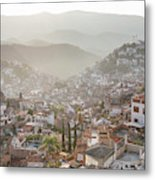 Sunrise In Taxco, Guerrero, Mexico Metal Print