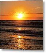 Sunrise In Texas 4 Metal Print