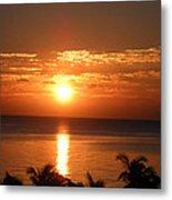 Sunrise In The Bahamas Metal Print