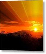 Sunrise From Heaven  Metal Print