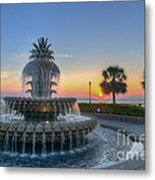 Sunrise In The Lowcountry Metal Print