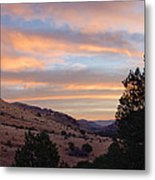 Sunrise - Indian Lodge Metal Print