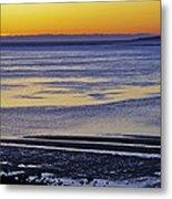 Sunrise Ipswich Bay Metal Print