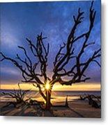 Sunrise Jewel Metal Print by Debra and Dave Vanderlaan
