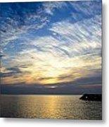 Sunrise Lake Michigan September 7th 2013 005 Metal Print