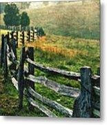 Sunrise Meadow - Blue Ridge Parkway II Metal Print
