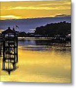 Sunrise Of The Atlantic Icw Metal Print