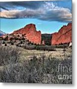 Sunrise Of The Gods Metal Print