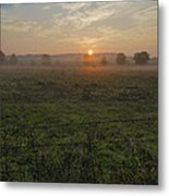 Sunrise On A New Day Metal Print