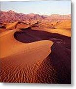 2a6856-sunrise On Death Valley Metal Print
