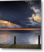 Sunrise On Key Islamorada In The Florida Keys Metal Print
