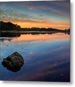 Sunrise On Little River Metal Print
