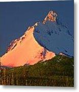 1m5306-sunrise On Mt. Washington Metal Print