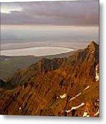 Da5901-sunrise On Steens Mountain Metal Print