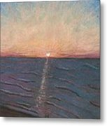 Sunrise On The Beach Metal Print