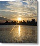 Sunrise On The Big Apple Metal Print