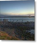Sunrise On The Coquille River Metal Print